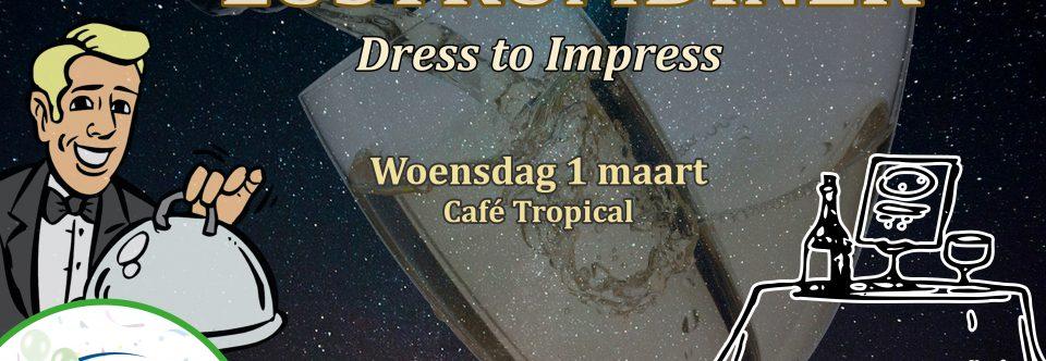 Lustrumdiner: Dress to impress