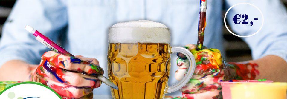 Versier je bier(pul)
