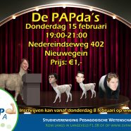 Comedyavond: De PAPda's