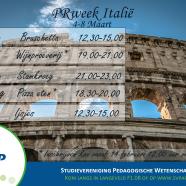 Promoweek Italië