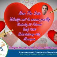 Save the date – valentijn met de mannen gezellig