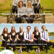 Wissel Algemene Ledenvergadering (WALV)