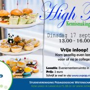High Tea: Kennismakingsactiviteit