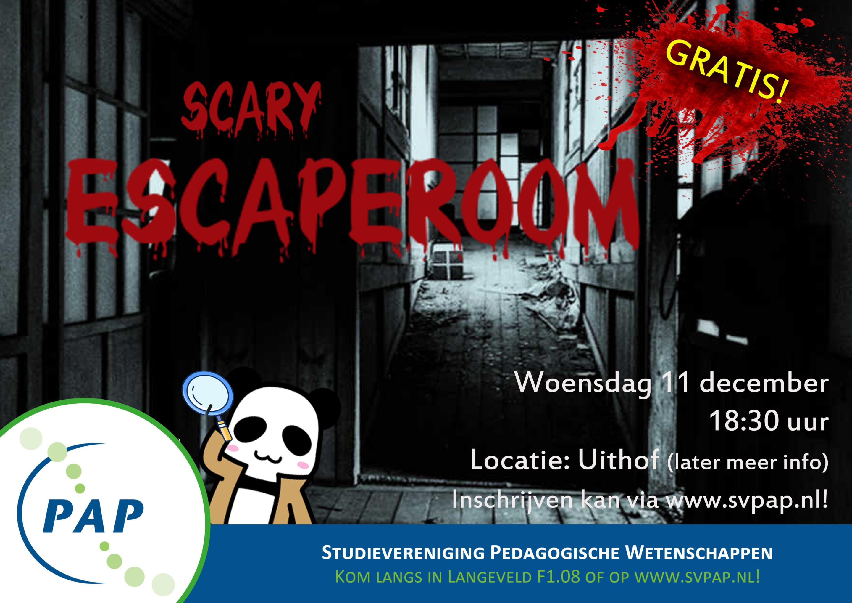 Scary Escaperoom!