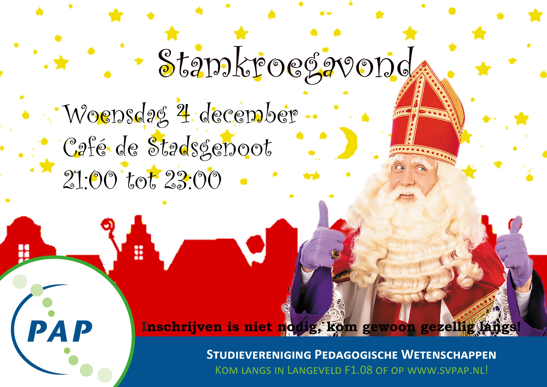 Stamkroeg december: Sinterklaas