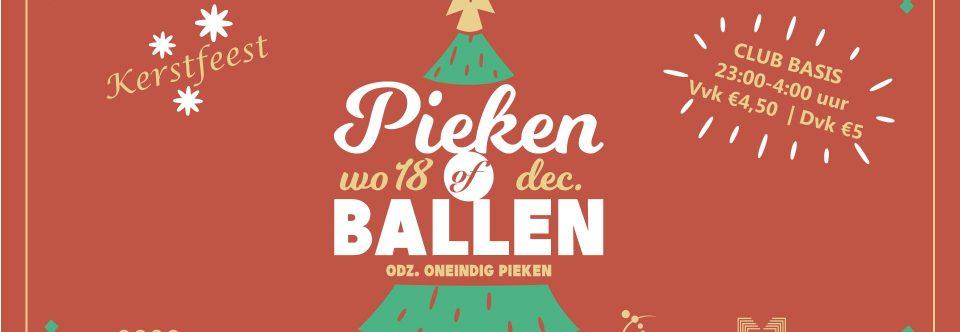 Kerstfeest: Pieken of ballen