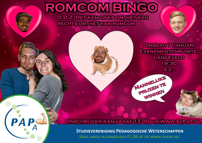 Romcom Bingo