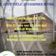 Excursie naar een justitiële jeugdinrichting