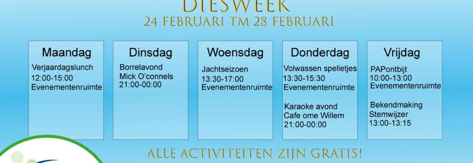 Diesweek!