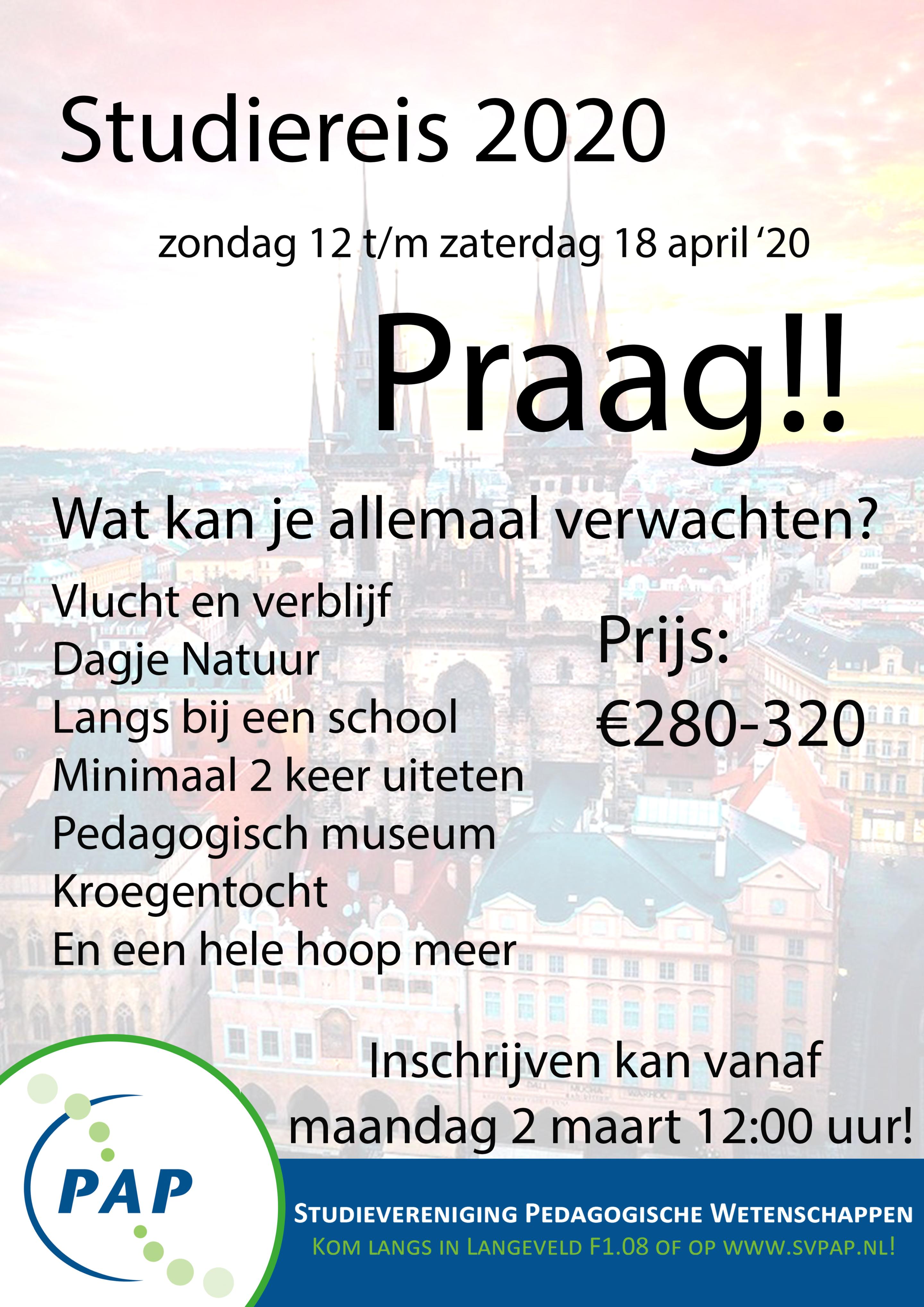 Studiereis Praag!